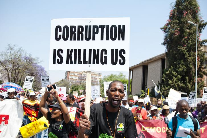 corruption is killing us